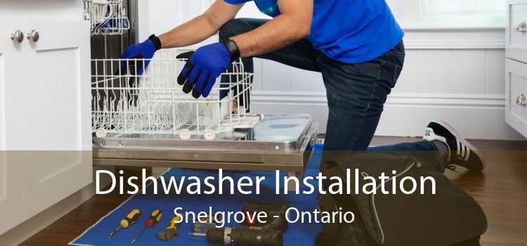Dishwasher Installation Snelgrove - Ontario