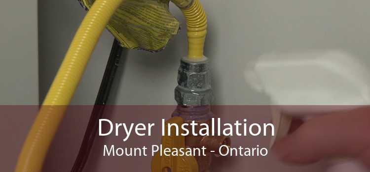 Dryer Installation Mount Pleasant - Ontario