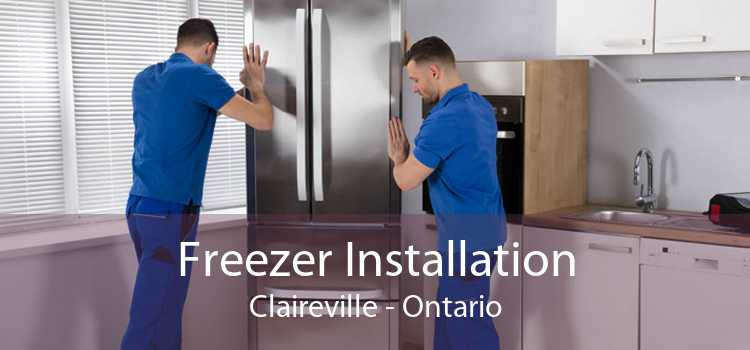 Freezer Installation Claireville - Ontario