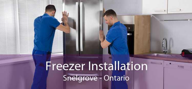 Freezer Installation Snelgrove - Ontario