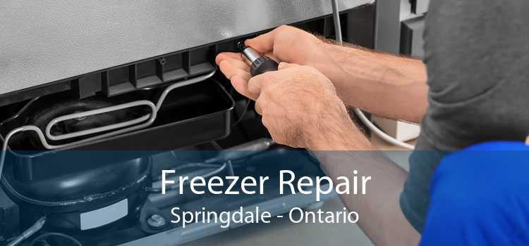 Freezer Repair Springdale - Ontario