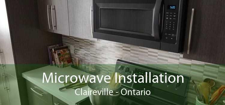 Microwave Installation Claireville - Ontario