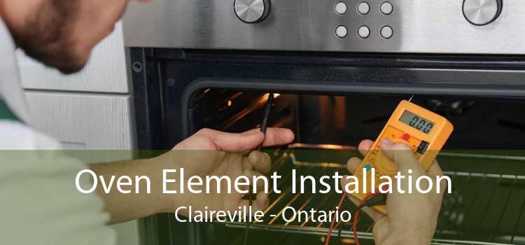 Oven Element Installation Claireville - Ontario