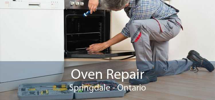 Oven Repair Springdale - Ontario