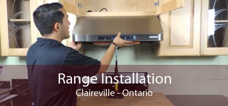 Range Installation Claireville - Ontario