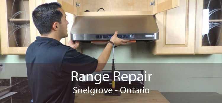Range Repair Snelgrove - Ontario